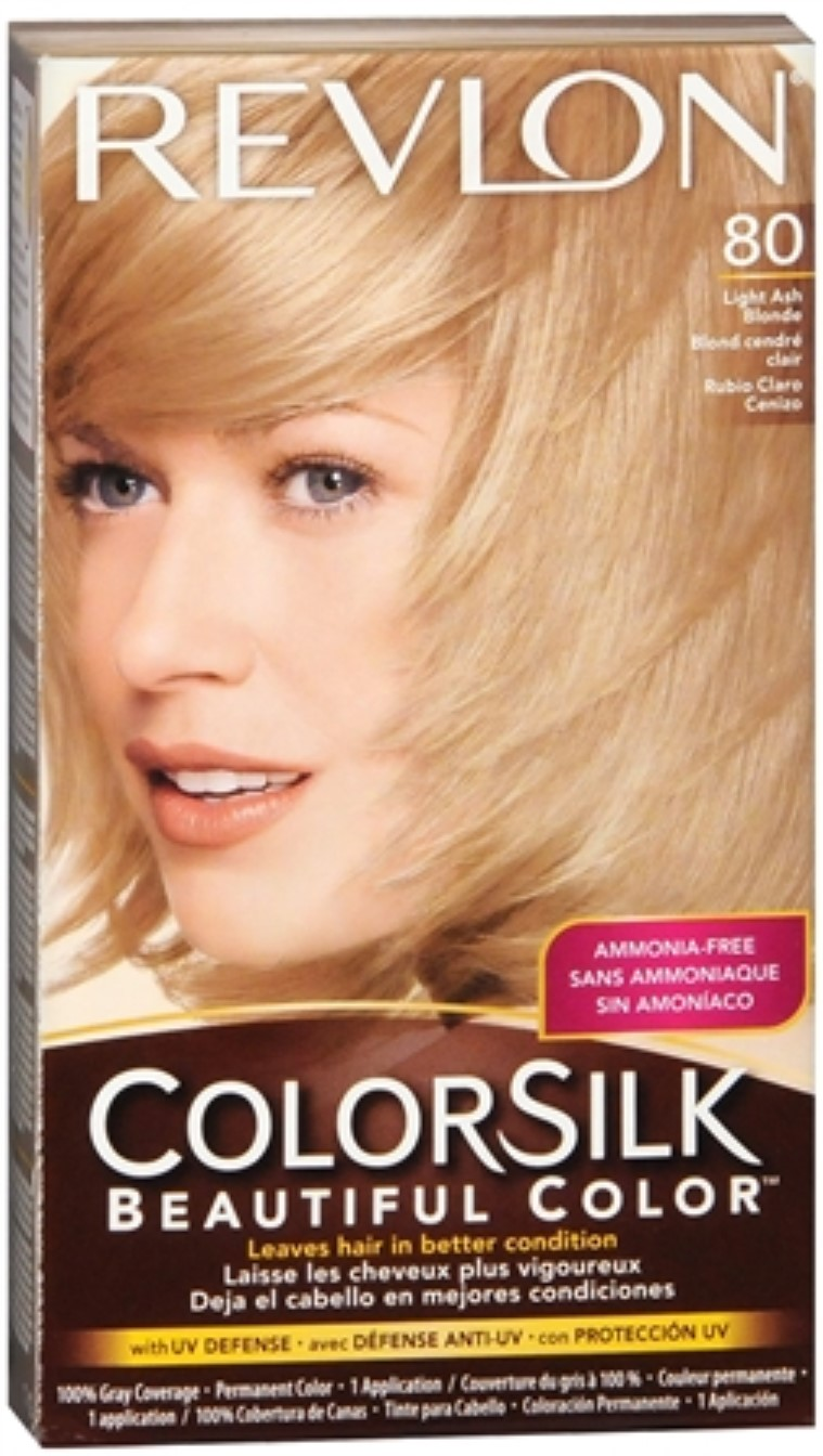 Really surprises. Revlon colorsilk light ash blonde are